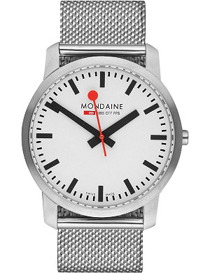 MONDAINE A6383035016SBM Simply Elegant stainless steel watch