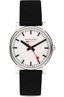 MONDAINE A6583030011SBB Evo leather watch