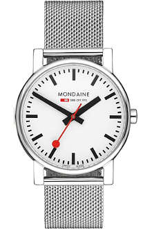 MONDAINE A6583030011SBV Evo stainless steel watch