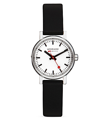 MONDAINE A6583030111SBB Evo black watch (White
