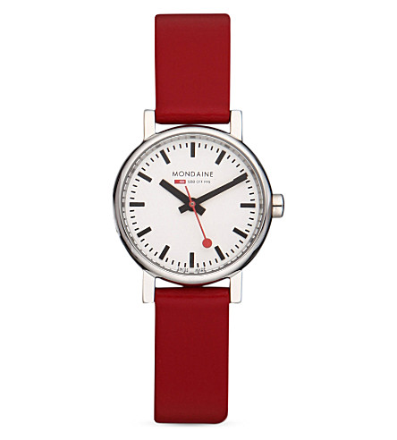 MONDAINE A6583030111SBC Evo red watch (White