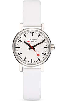 MONDAINE A6583030111SBN Evo white watch