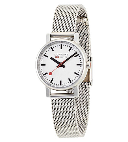 MONDAINE A6583030111SBV Evo white watch (White
