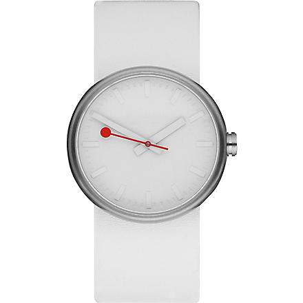 MONDAINE A6583030616SBA Giant Size stainless steel unisex watch (White