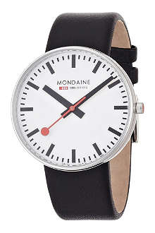 MONDAINE A6603032811SBB Evo Giant white watch
