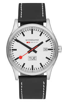 MONDAINE A6673030816SBB stainless steel watch