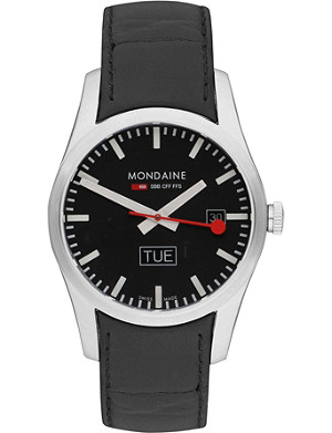 MONDAINE Stainless steel watch a6673034014sbb