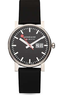 MONDAINE Evo big-date watch
