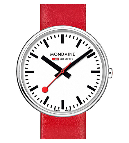 MONDAINE A7633036211sbc mini giant watch (White