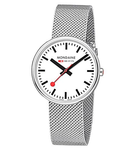 MONDAINE Mondaine a763.30362.11sbm watch (White