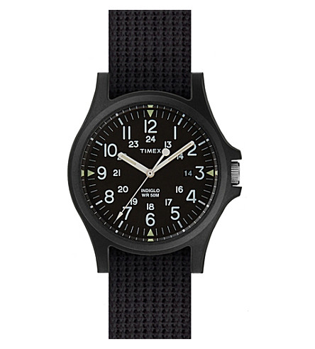 TIMEX ARCHIVE ABT118 Arcadia nylon strap watch