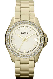 FOSSIL AM4453 gold-toned watch