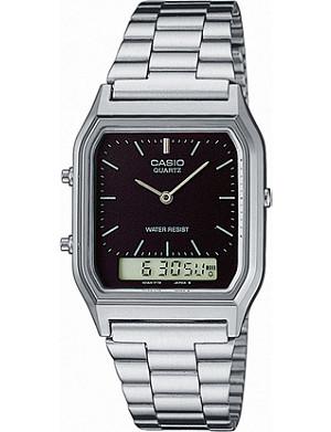CASIO AQ230A1DMQYES unisex stainless steel watch