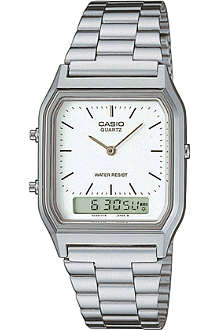 CASIO AQ230A7DMQYES unisex stainless steel watch