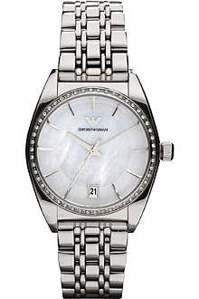 EMPORIO ARMANI AR0379 Franco stainless steel and crystal watch