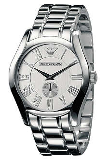 EMPORIO ARMANI AR0647 sterling silver watch
