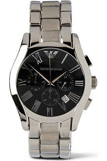 EMPORIO ARMANI AR0673 Stainless steel chronograph watch
