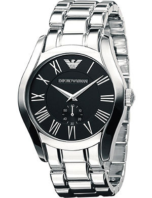 EMPORIO ARMANI AR0680 stainless steel bracelet watch