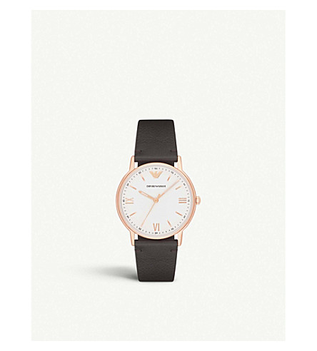 EMPORIO ARMANI AR11011 玫瑰镀金不锈钢腕表
