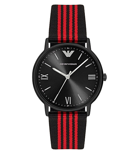 EMPORIO ARMANI AR11015 stainless steel watch