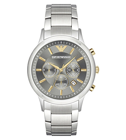 EMPORIO ARMANI AR11047 Renato stainless steel watch