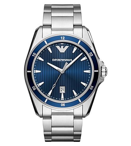 EMPORIO ARMANI AR11100 Sigma stainless steel quartz watch