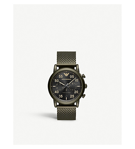 EMPORIO ARMANI AR11115 Stainless steel quartz watch