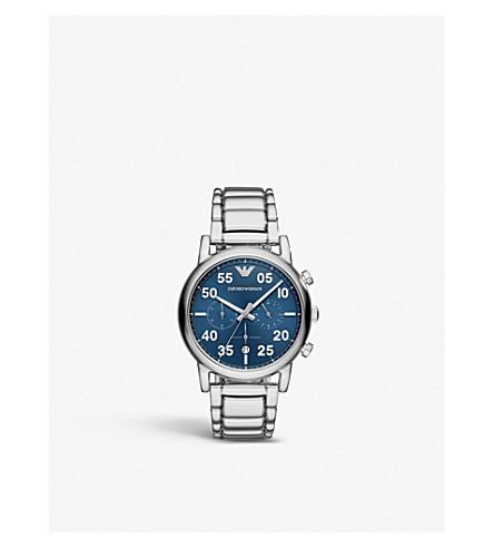 EMPORIO ARMANI AR11132 路易不锈钢计时腕表