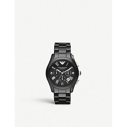 EMPORIO ARMANI AR1400 Ceramic watch (Black