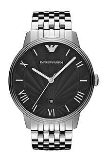 EMPORIO ARMANI AR1614 Dino stainless steel watch