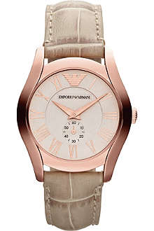 EMPORIO ARMANI AR1670 Classic round rose gold watch