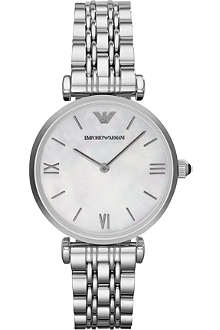 EMPORIO ARMANI Stainless steel quartz watch