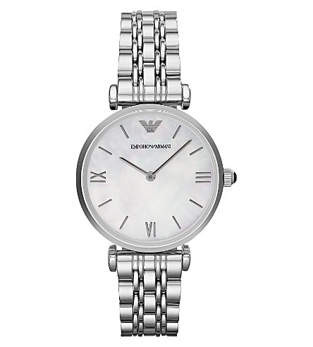 EMPORIO ARMANI AR1682 stainless steel watch (Mop