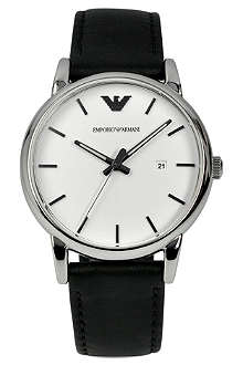 EMPORIO ARMANI AR1694 Luigi leather watch