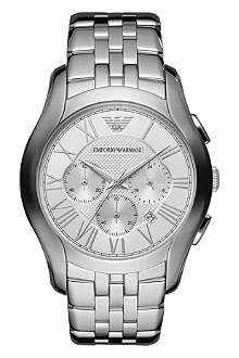 EMPORIO ARMANI AR1702 stainless steel chronograph watch