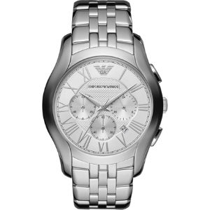 Ar1702 stainless steel chronograph watch