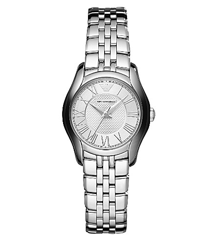 EMPORIO ARMANI AR1716 stainless steel watch (Silver