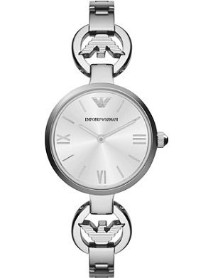 EMPORIO ARMANI AR1772 Retro stainless steel watch