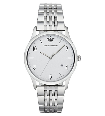 EMPORIO ARMANI AR1867 stainless steel watch (Silver