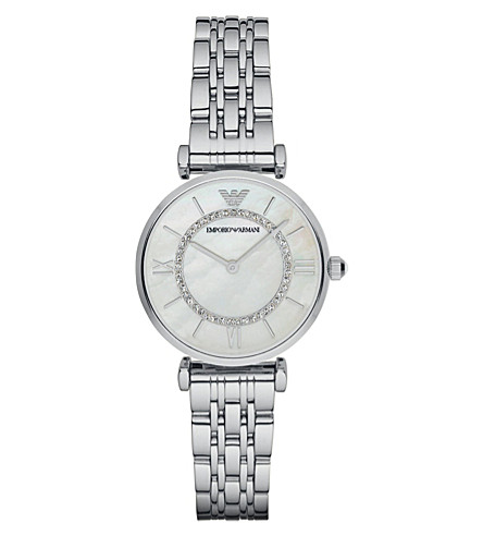 EMPORIO ARMANI AR1908 stainless steel watch (Silver