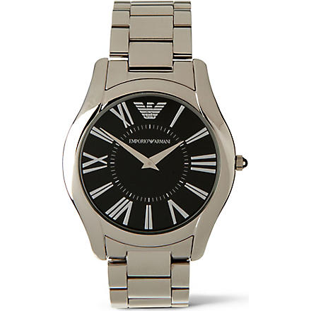 EMPORIO ARMANI AR2022 Super Slim watch (Black