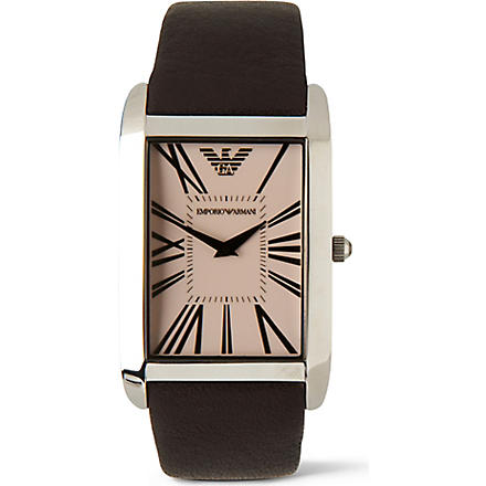 EMPORIO ARMANI AR2032 Super Slim watch (Champagne