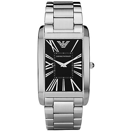 EMPORIO ARMANI AR2053 Super Slim classic watch (Black