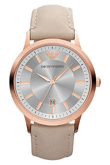 EMPORIO ARMANI AR2466 Classic rose gold-toned watch