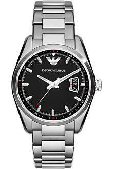 EMPORIO ARMANI New Tazio AR6019 stainless steel watch