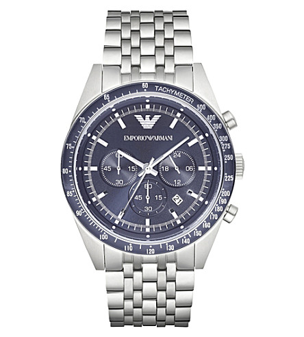 EMPORIO ARMANI ar6072 stainless steel watch