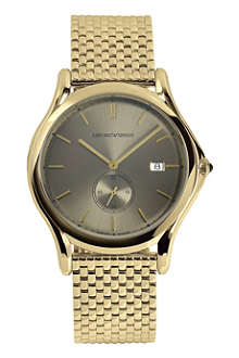 EMPORIO ARMANI SWISS ARS1008 gold-toned plated watch