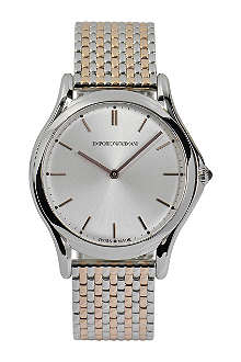 EMPORIO ARMANI SWISS ARS2007 stainless steel watch