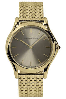 EMPORIO ARMANI SWISS ARS2008 gold-toned unisex watch