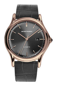 EMPORIO ARMANI SWISS ARS3003 Swiss Made gold-tone watch